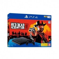 CONSOLA SONY PS4 1TB+RED DEAD REDEMPTION 2