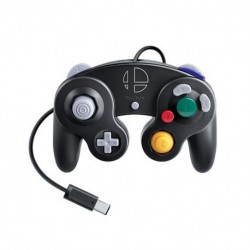 GAMEPAD NINTENDO SWITCH GAMECUBE NEGRO