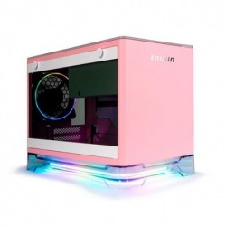 TORRE MINI ITX 650W IN WIN A1 PLUS ROSA