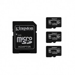 MEM MICRO SDHC 32GB KINGSTON CANVAS SELECT+ADAPT