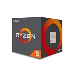 PROCESADOR AMD AM4 RYZEN 5 1600 6X3.6GHZ/19MB BOX