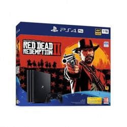 CONSOLA SONY PS4 PRO 1TB+RED DEAD REDEMPTION2